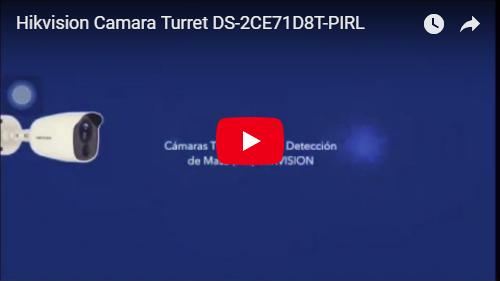 Hikvision Camara Turret DS-2CE71D8T-PIRL
